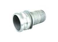 Part E Male Adapter x Hose Shank Cam and Groove Crimp Couplings