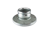 Part A x Flat Face Flange<br>Cam and Groove Couplings