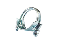 Double Bolt Hose Clamps for Corrugated Hose