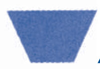 SPA1482 A-SECTION METRIC BELT