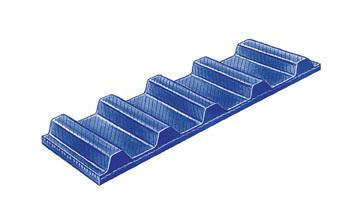 1//2 Pitch Chloroprene 36 Pitch Length 1.00 Wide 1//2 Pitch 36 Pitch Length 1.00 Wide Jason Industrial 039-360H100 HeavyH Standard Timing Belt
