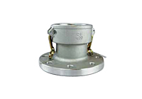 Part D x Flat Face Flange<br>Cam and Groove Couplings